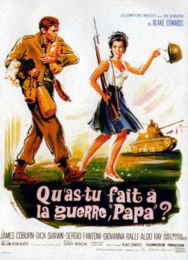 What Did You Do in the War, Daddy? - 11 x 17 Movie Poster - French Style A