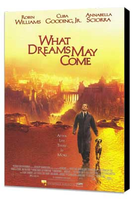 What Dreams May Come - 11 x 17 Movie Poster - Style A - Museum Wrapped Canvas