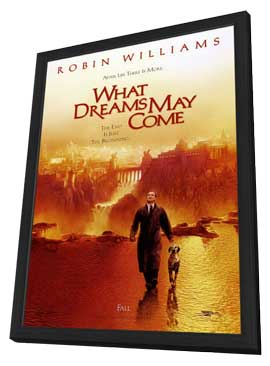 What Dreams May Come - 27 x 40 Movie Poster - Style B - in Deluxe Wood Frame