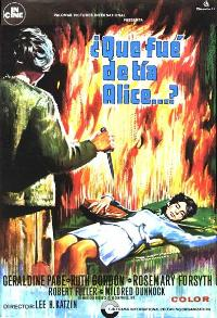 Whatever Happened to Aunt Alice? - 27 x 40 Movie Poster - Spanish Style A