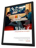 What If - 11 x 17 Movie Poster - Style A - in Deluxe Wood Frame