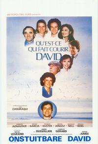 What Makes David Run? - 11 x 17 Movie Poster - Belgian Style A
