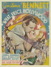 What Price Hollywood? - 27 x 40 Movie Poster - Style B