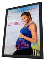 What to Expect When You're Expecting - 27 x 40 Movie Poster - Style A - in Deluxe Wood Frame