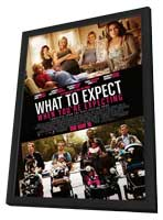 What to Expect When You're Expecting - 27 x 40 Movie Poster - Style D - in Deluxe Wood Frame