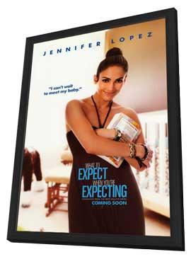 What to Expect When You're Expecting - 11 x 17 Movie Poster - Style C - in Deluxe Wood Frame