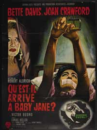 What Ever Happened to Baby Jane? - 43 x 62 Movie Poster - French Style A