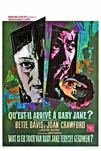 What Ever Happened to Baby Jane? - 11 x 17 Movie Poster - French Style C