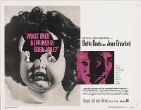 What Ever Happened to Baby Jane? - 30 x 40 Movie Poster UK - Style A