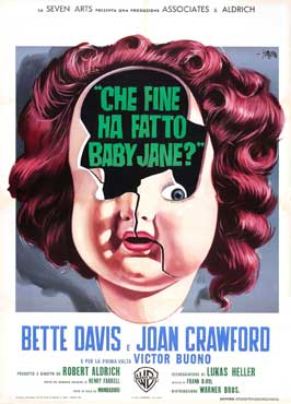 What Ever Happened to Baby Jane? - 27 x 40 Movie Poster - Italian Style A