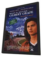 What's Eating Gilbert Grape - 11 x 17 Movie Poster - Style B - in Deluxe Wood Frame