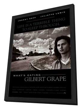 What's Eating Gilbert Grape - 27 x 40 Movie Poster - Style A - in Deluxe Wood Frame