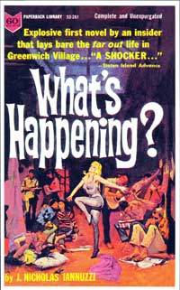 What's Happening? - 11 x 17 Retro Book Cover Poster