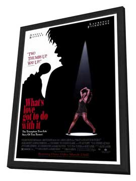 What's Love Got to Do with It? - 27 x 40 Movie Poster - Style A - in Deluxe Wood Frame