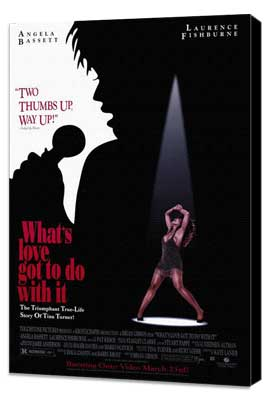 What's Love Got to Do with It? - 11 x 17 Movie Poster - Style A - Museum Wrapped Canvas