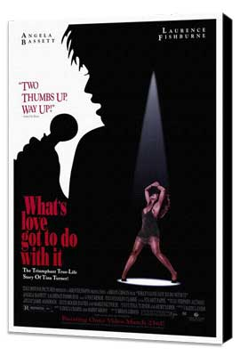 What's Love Got to Do with It? - 27 x 40 Movie Poster - Style A - Museum Wrapped Canvas