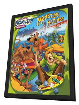 What's New, Scooby-Doo? (TV) - 11 x 17 TV Poster - Style A - in Deluxe Wood Frame