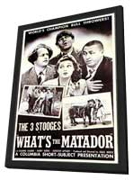 What's the Matador - 11 x 17 Movie Poster - Style A - in Deluxe Wood Frame