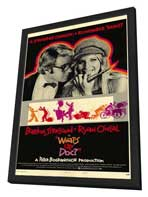 What's Up, Doc? - 11 x 17 Movie Poster - Style B - in Deluxe Wood Frame