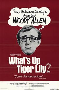 What's up Tiger Lily - 11 x 17 Movie Poster - Style A