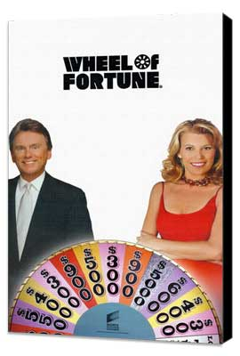 Wheel of Fortune - 11 x 17 TV Poster - Style A - Museum Wrapped Canvas
