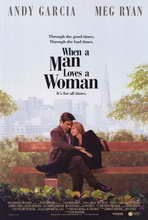 When a Man Loves a Woman - 11 x 17 Movie Poster - Style A
