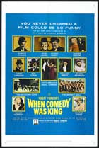 When Comedy Was King - 27 x 40 Movie Poster - Style B