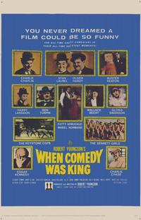 When Comedy Was King - 11 x 17 Movie Poster - Style A