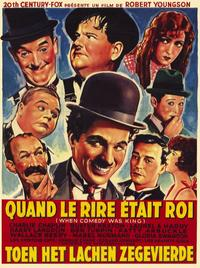 When Comedy Was King - 11 x 17 Movie Poster - Belgian Style A