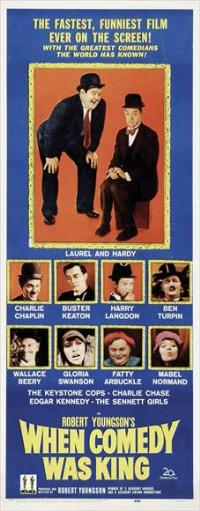 When Comedy Was King - 14 x 36 Movie Poster - Insert Style B