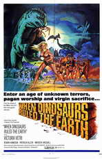 When Dinosaurs Ruled The Earth - 11 x 17 Movie Poster - Style A