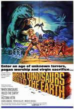 When Dinosaurs Ruled The Earth - 27 x 40 Movie Poster - Style A