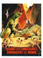 When Dinosaurs Ruled The Earth - 11 x 17 Movie Poster - French Style A