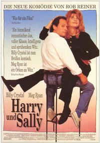 When Harry Met Sally. . . - 11 x 17 Movie Poster - German Style A