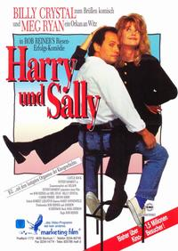When Harry Met Sally. . . - 11 x 17 Movie Poster - German Style B