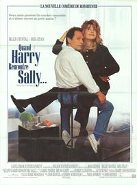 When Harry Met Sally. . . - 43 x 62 Movie Poster - French Style A