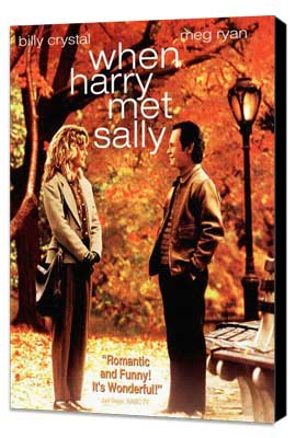When Harry Met Sally. . . - 11 x 17 Movie Poster - Style B - Museum Wrapped Canvas
