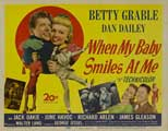 When My Baby Smiles at Me - 11 x 14 Movie Poster - Style A
