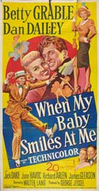 When My Baby Smiles at Me - 20 x 40 Movie Poster - Style A
