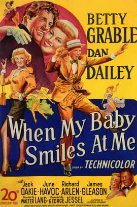 When My Baby Smiles at Me - 11 x 17 Movie Poster - Style A
