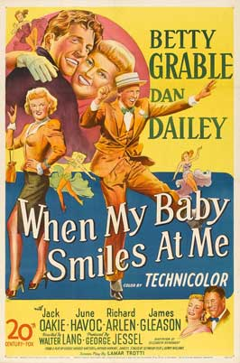 When My Baby Smiles at Me - 27 x 40 Movie Poster - Style B