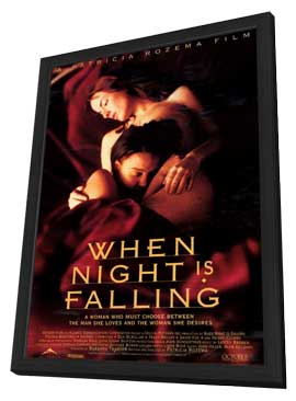 When Night Is Falling - 11 x 17 Movie Poster - Style A - in Deluxe Wood Frame