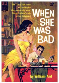 When She Was Bad - 11 x 17 Retro Book Cover Poster