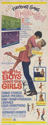 When the Boys Meet the Girls - 14 x 36 Movie Poster - Insert Style A