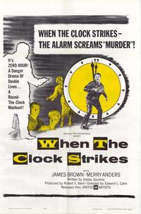 When the Clock Strikes - 11 x 17 Movie Poster - Style A
