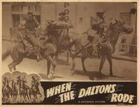 When the Daltons Rode - 11 x 14 Movie Poster - Style A