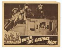 When the Daltons Rode - 11 x 14 Movie Poster - Style B