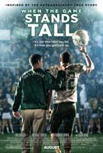 """When the Game Stands Tall"" Movie Poster"