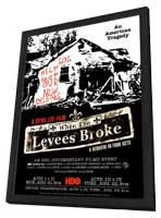 When the Levees Broke: A Requiem in Four Acts - 11 x 17 Movie Poster - Style A - in Deluxe Wood Frame