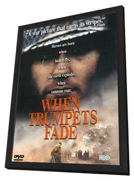 When Trumpets Fade (TV) - 11 x 17 Movie Poster - Style A - in Deluxe Wood Frame
